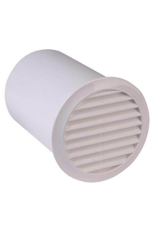Zidni zračnik Air-Circle (bela, premer priključnega nastavka: 100 mm, z nastavkom)