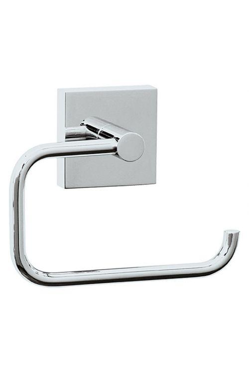 Nosilec toaletnega papirja Ekkro, Nie wieder bohren (brez pokrova, pritrjevanje: lepljenje, kromiran)