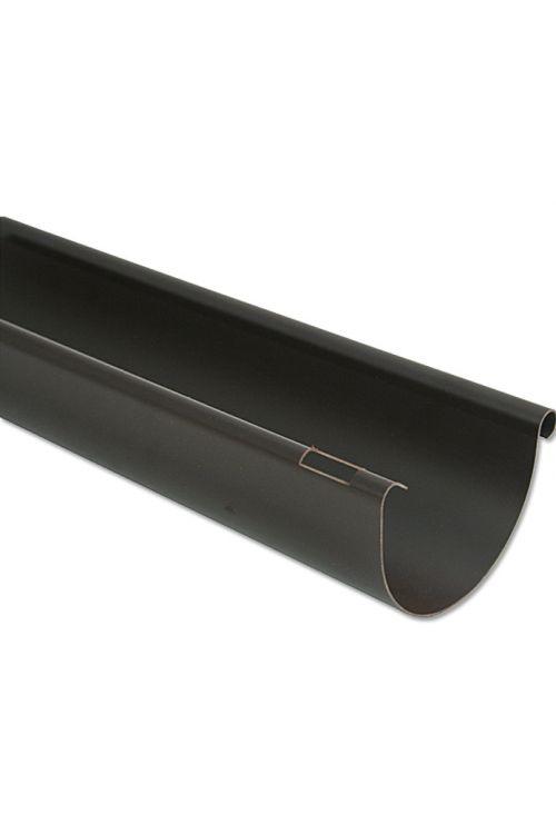 Polkrožni strežni žleb Marley (nazivna širina: 100 mm, dolžina: 200 cm, umetna masa, rjava)