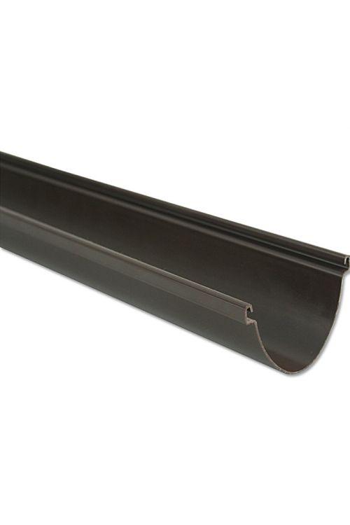 Strežni žleb Marley Duplex (nazivna širina: 80 mm, dolžina: 2 m, umetna masa, rjava)