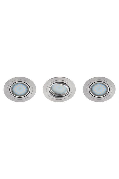 Komplet vgradnih LED-svetilk Tween Light (okrogle, energetski razred: A+, 3 x 3 W, aluminij)