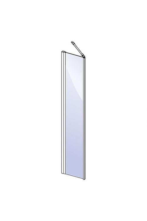 Tuš stena Camargue Vario S15 (40 x 195 cm, srebrni profili, steklo: 6 mm, premaz WonderClean)