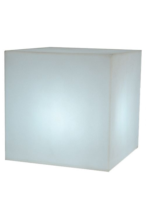 Dizajnerska zunanja svetilka Cuby 45 (45 x 45 x 45 cm, energetski razred: A, 15 W, toplo bela)