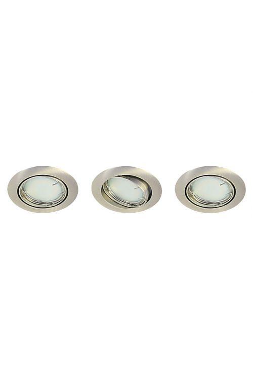 Set vgradnih LED-svetilk Tween Light (mat nikelj, maks. moč: 9,6 W, točkovne LED svetilke, energetski razred: A+)