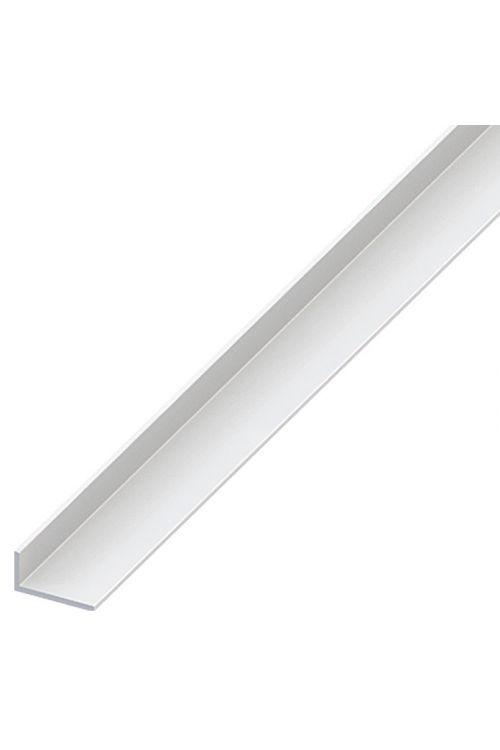 Kotni profil Kantoflex (2.000 x 40 x 10 mm, debelina: 2 mm, trd PVC, bel)