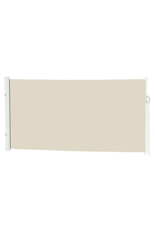 Stranska markiza Sunfun Mobile (bež/bele barve, 6 x 1,6 m)