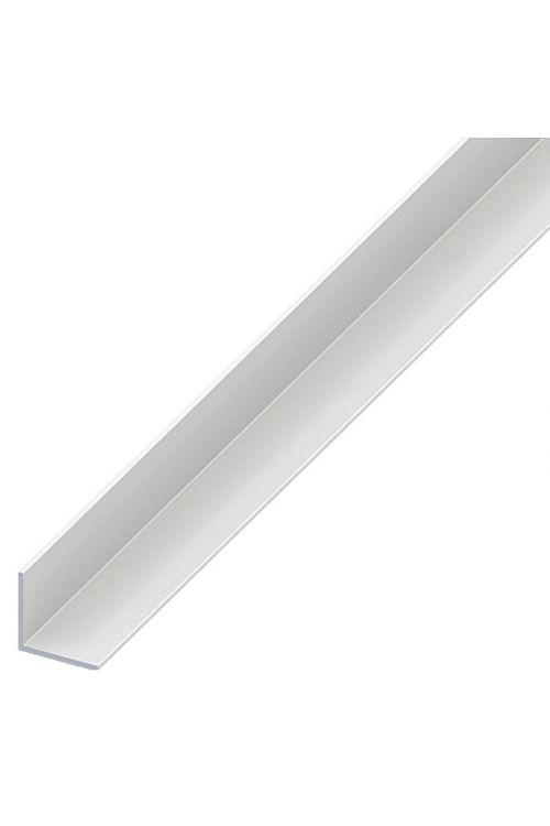 Kotni profil Kantoflex (2.000 x 15 x 15 mm, debelina: 1 mm, trd PVC, bel)