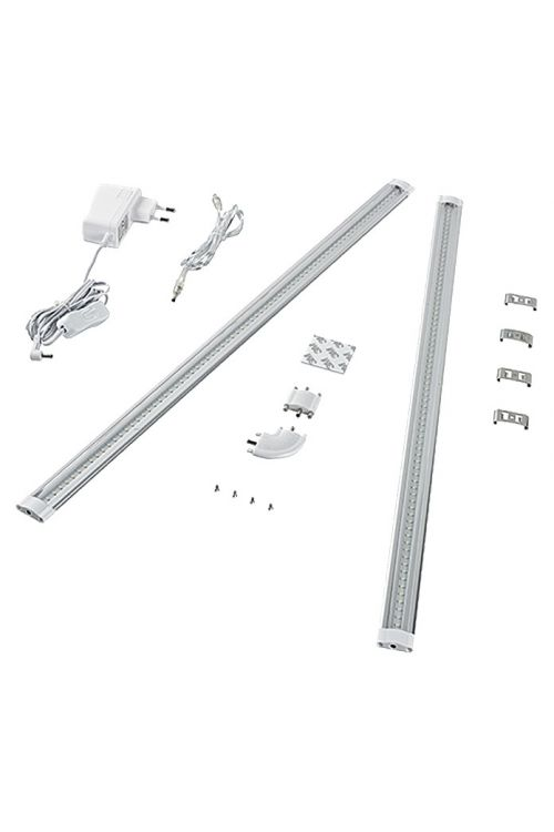 Podelementna LED-svetilka Tween Light (2 x 6 W, dolžina: 120 cm, toplo bela, energetski razred: A++ do A)