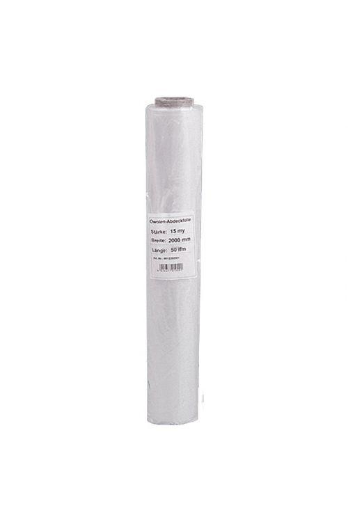 Prekrivna folija Probau (polietilen, 50 m x 2 m x 0,015 mm, zadostuje za: 100 m²)
