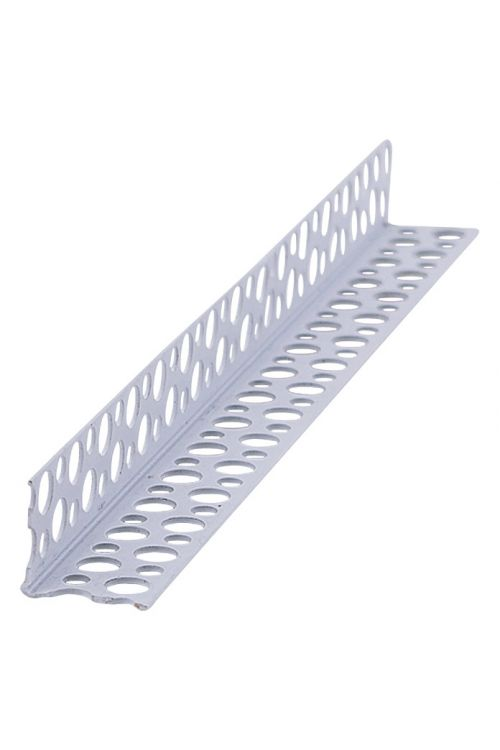 Kotni profil za suho gradnjo Probau (aluminij, 250 x 2,5 x 2,5 cm)