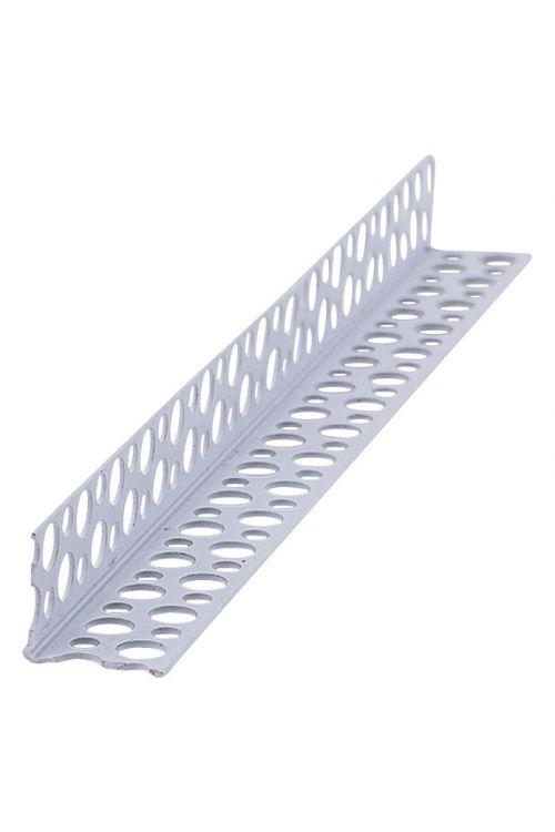 Kotni profil za suho gradnjo Probau (PVC, 250 x 2,3 x 2,3 cm)