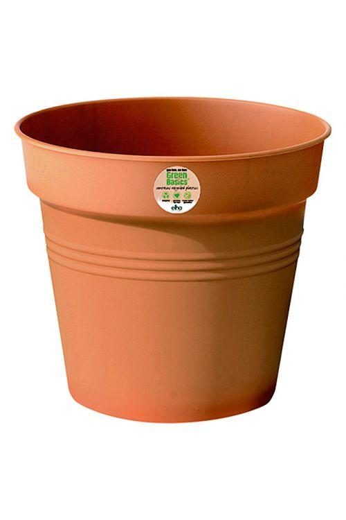 Cvetlični lonec elho Green Basics (premer: 40 cm, umetna masa, glineno rdeče barve)