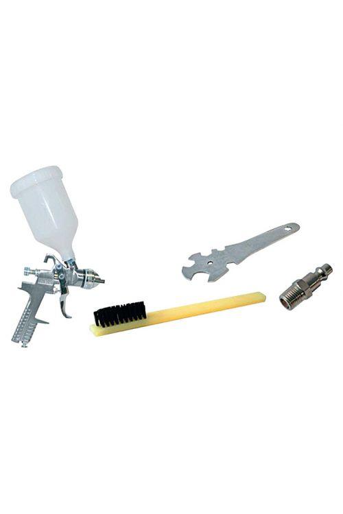 Pištola za barvanje Craftomat Kit Line (obratovalni tlak: 3–4 bare, poraba zraka: 180 l/min, kapaciteta pištole za barvanje: 0,6 l)