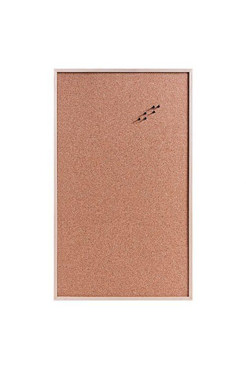 Oglasna deska (100 cm x 60 cm x 14 mm, pluta, šest žebljičkov, ušesa za obešanje)
