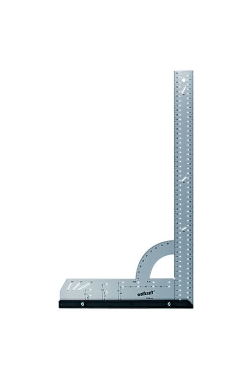 Univerzalni kotomer Wolfcraft (500 x 280 mm, 90°, zamenljivo merilo)