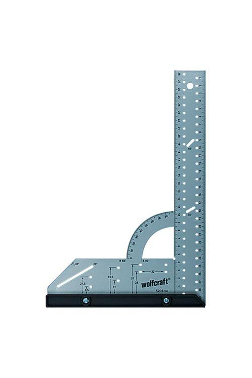 Univerzalni kotomer Wolfcraft (300 x 200 mm, 90°, zamenljivo merilo)