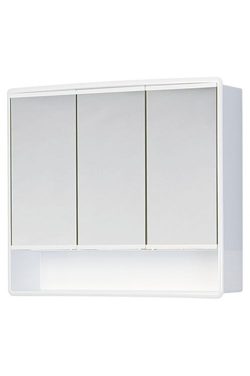 Omarica z ogledalom Jokey Lymo (umetna masa, bela, 14.5 x 58 x 49.5 cm)