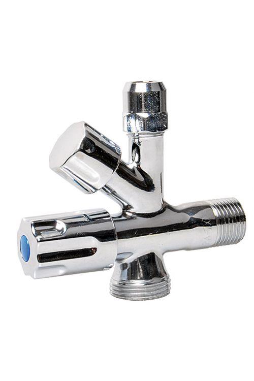 Kotni ventil (½-palčni, kromiran)