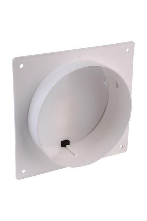 Zidni priključni nastavek Air-Circle (premer priključnega nastavka: 150 mm, maks. pretok zraka: Od 600 m³/h)