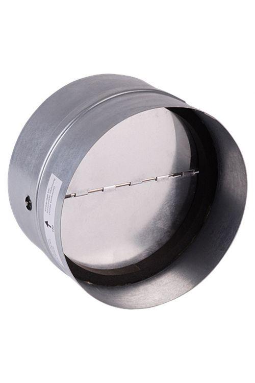 Zaporna loputa za protipovratni zrak Air-Circle (premer: 100 mm, z loputo za nakopičeni zrak)