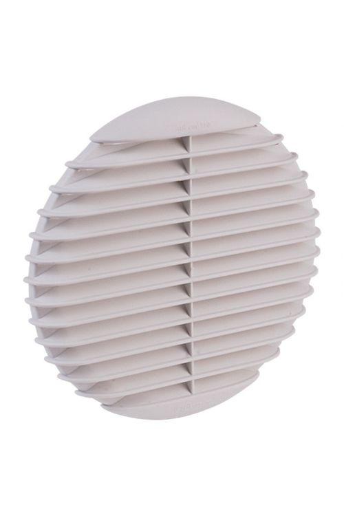 Okrogla rešetka Air-Circle (območje vpenjanja: Ø 125–80 mm, svetlo siva)