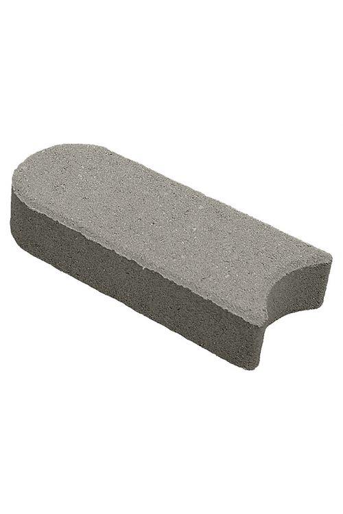 Robnik (siva, beton, 22 x 10 x 4,5 cm)