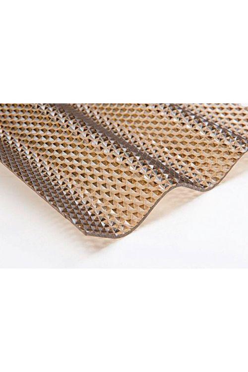Valovita plošča Resist Plexiglas® (bronasta, satasta, 200 x 104,5 cm)