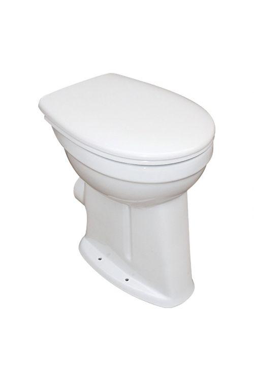 WC školjka Camargue Set Plus 100 (odtok v steno, povišana za 10 cm, medicinska, WC deska snemljiva s počasnim spuščanjem)