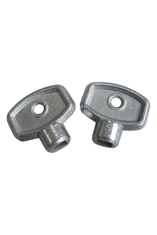 Ključ za odzračevanje (2 kosa, notranji štirirobni: 5 mm)