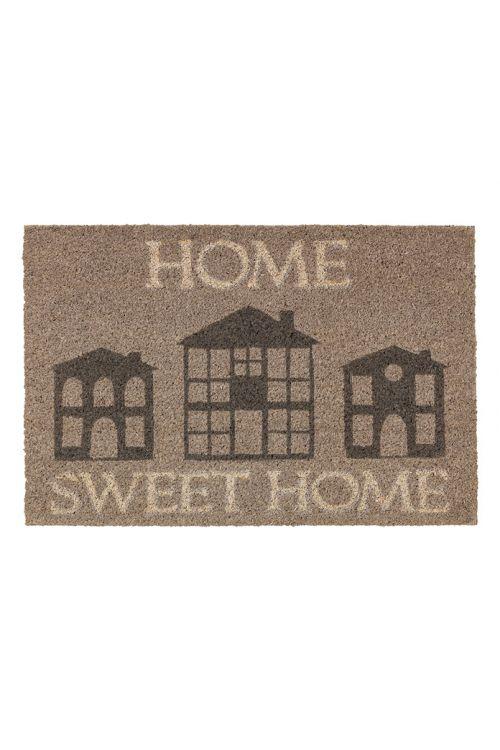 Predpražnik iz kokosovih vlaken Astra Coco Style (z napisom Home Sweet Home, rjav, 40 x 60 cm, 100-odstotni kokos)