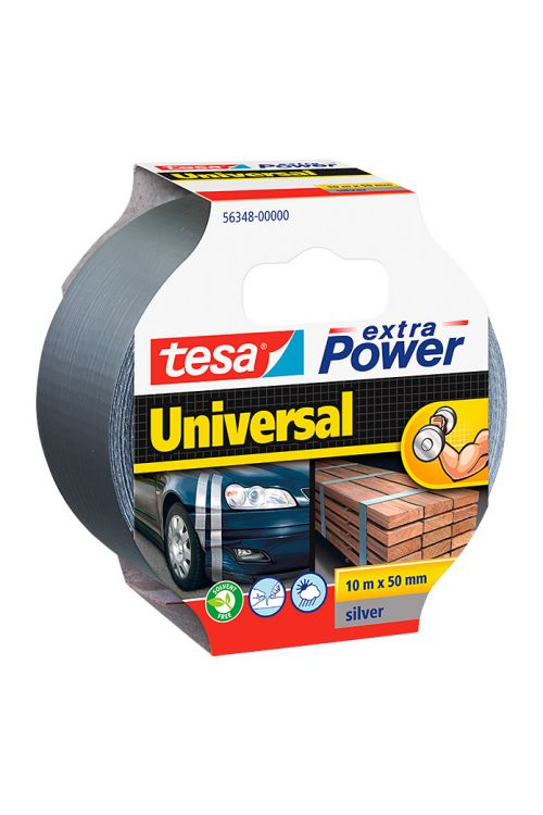 Univerzalen večnamenski trak Tesa extra Power (siv, 10 m x 50 mm)