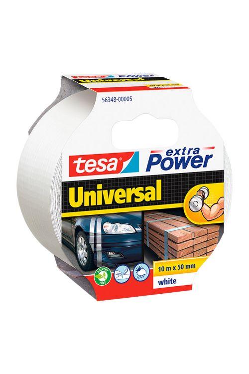 Univerzalen večnamenski trak Tesa extra Power (bel, 10 m x 50 mm)
