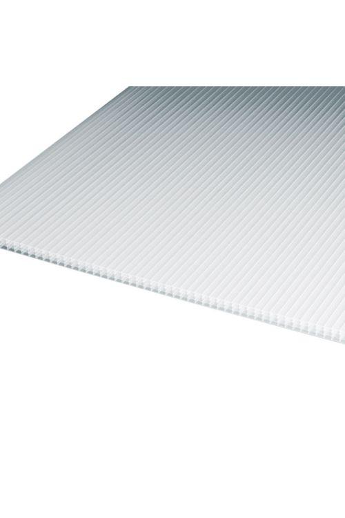 Votla plošča Makrolon (bela, polikarbonat, 250 cm x 105 cm x 10 mm)