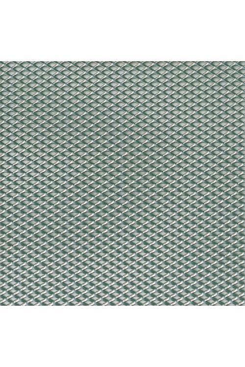 Ekspandirana pločevina Kantoflex (1.000 x 600 mm, debelina: 1,2 mm, jeklo, cev, mere: 6 x 3,5 mm)