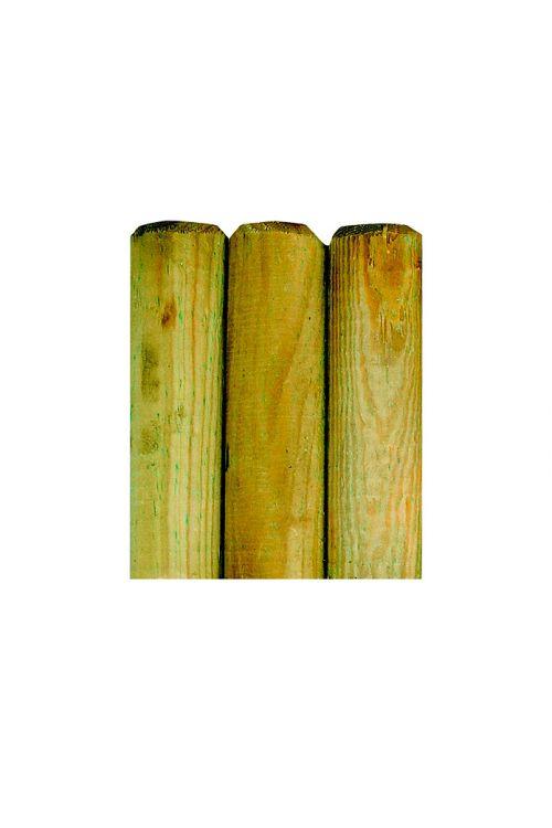Majhna palisada (Ø x V: 80 mm x 50 cm, impregnirana v kotlu pod pritiskom)