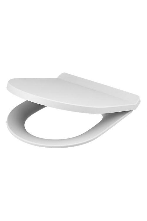 WC deska Camargue Rom (duroplast, počasno spuščanje, snemljiva, bela)