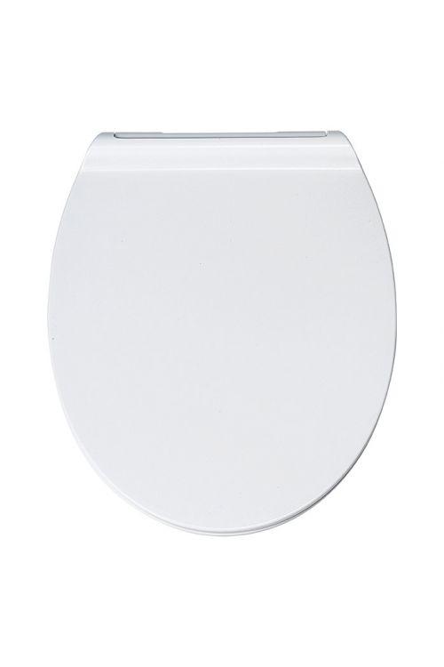WC deska POSEIDON Flat (duroplast, počasno spuščanje, snemljiva, bela)