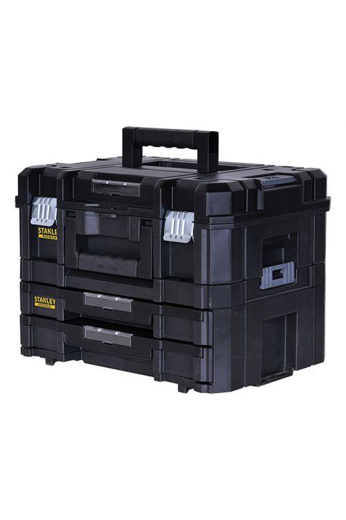 Kovček za orodje z dvema predaloma Stanley TSTAK (33,17 x 44 x 32,16 cm)