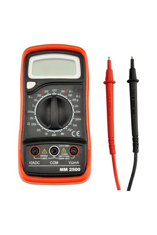 Digitalni multimeter Profi Depot MM 2500 (merilno območje izmenične napetosti: 100 mV–250 V)