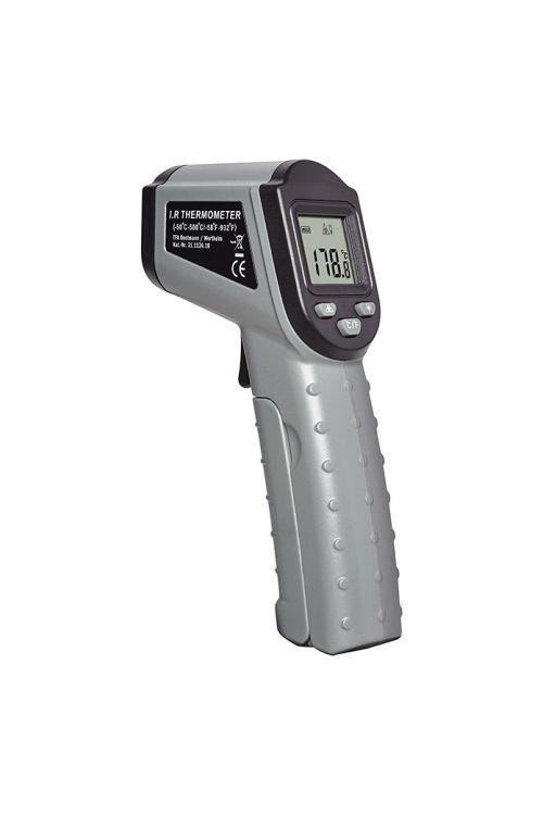 Infrardeči termometer (merilno področje: -50 do +500 °C, čas merjenja: < 1 s)