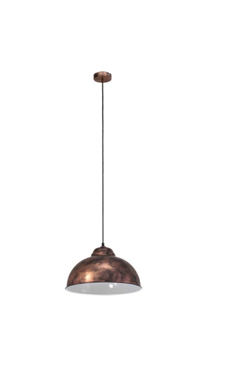 Viseča svetilka Eglo (starinska, baker, višina: 110 cm, 60 W, E27, energetski razred: A++ do E)