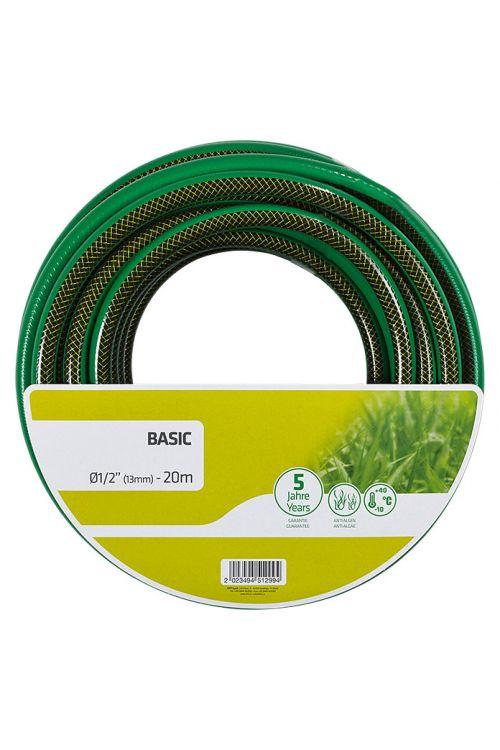 Vrtna cev Basic (dolžina: 20 m, premer vrtne cevi: 13 mm (½″))