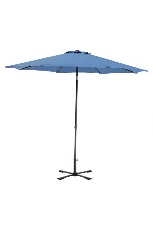 Senčnik SunfunTorino (Ø 270 cm, modra, UV 50+)