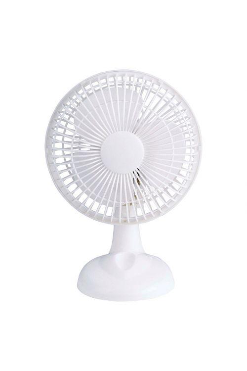 Namizni ventilator Proklima (bel, premer: 15 cm, 16 W)