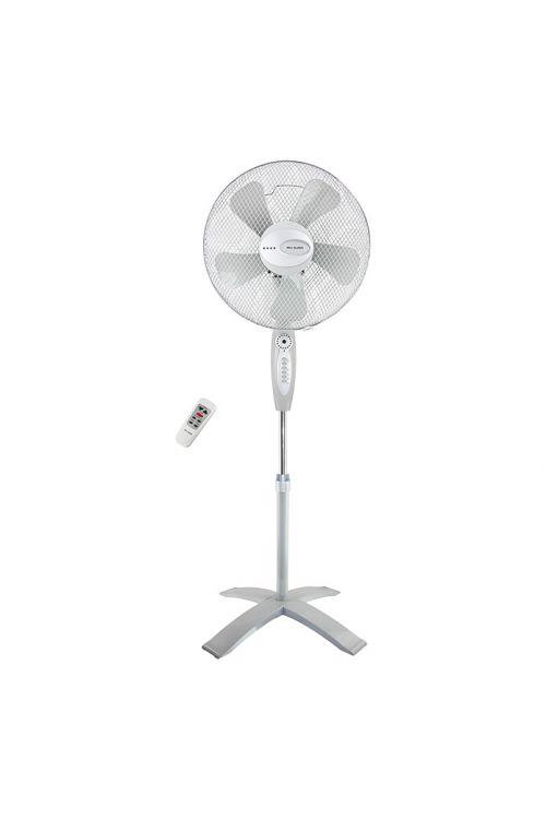 Stoječi ventilator Proklima (bel/siv, višina: 140 cm, 55 W)