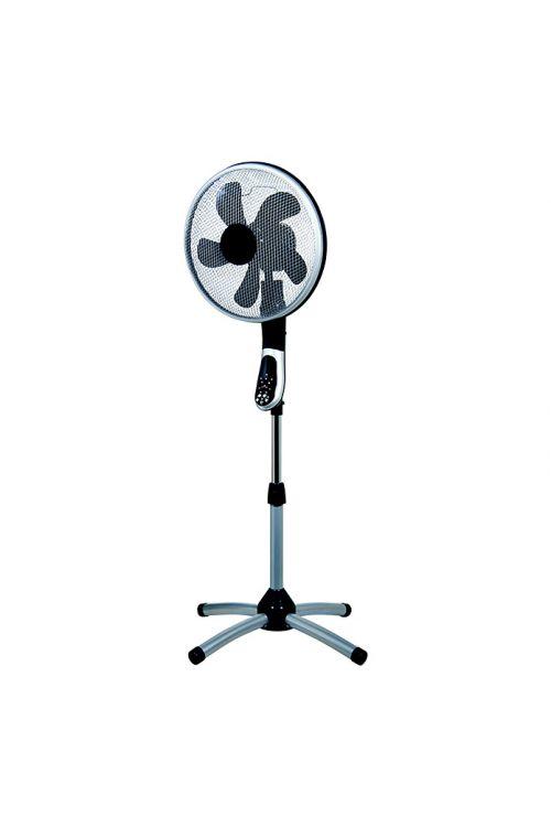 Stoječi ventilator Proklima (srebrn/črn, višina: 148 cm, 55 W)
