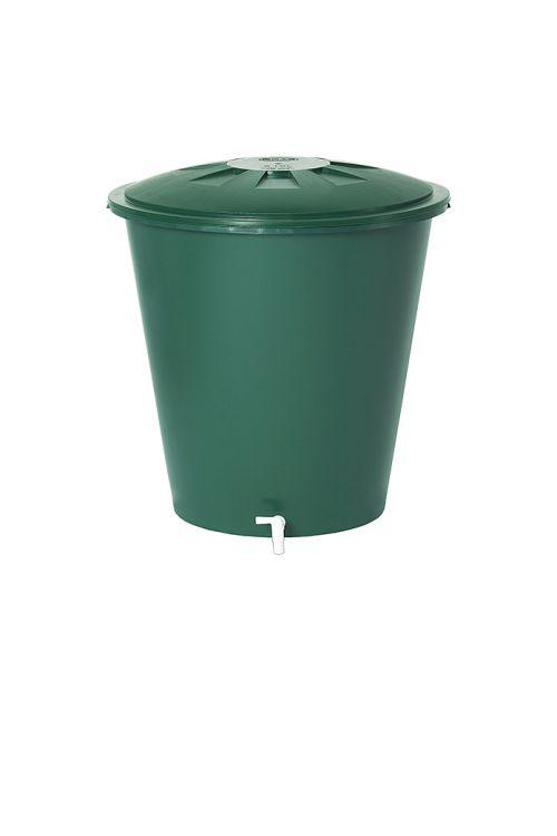 Kad za deževnico Garantia Basic Line (210 l, zelene barve, s pipo)