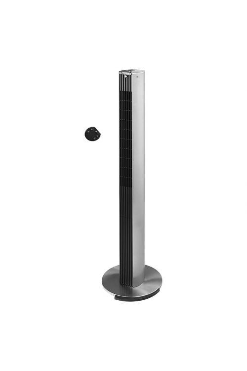 Dizajnerski stolpni ventilator Proklima (srebrn, 122 cm, 40 W, z daljinskim upravljanjem)