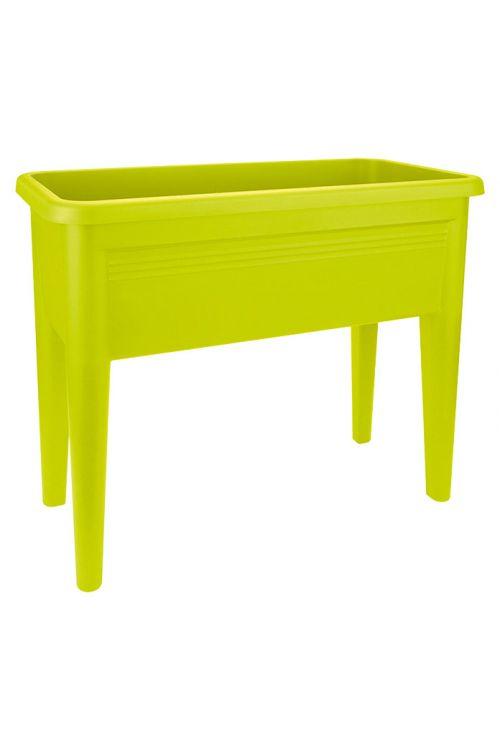 Miza za sajenje elho Green Basics XXL (75 x 37 x 65 cm, limetne barve, reciklirana umetna masa)