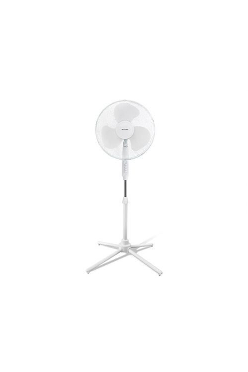 Stoječi ventilator Proklima (bel, premer: 40 cm, 44 W, 3750 m³/h)